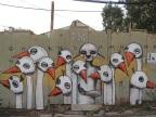 אומנות רחוב – קירות משותפים.