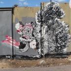 אומנות רחוב: LATZI, DEDE, על שפנים אמתניים ופנטזיה…