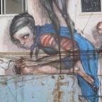 אומנות רחוב – CAN 2 HERAKUT SUIKO TEL AVIV 2011