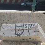 אומנות רחוב: צלקת, טלאי, פלסתר וטקסט ,DEDE ADI SANED