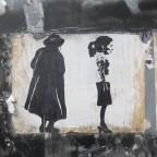 אומנות רחוב: עבודה לבישה של לצ'י.