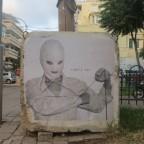 """אומנות רחוב: פומה (FOMA): """"כבר נצחנו""""."""