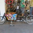 אופניים בעיר: Cargo bike (אופניים עם ארגז)