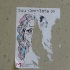 אומנות רחוב: HalFace