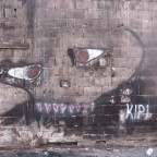 אומנות רחוב: קיר משותף: KIPI AND DEDE