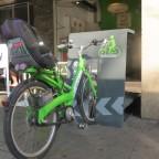 אופניים: שולחן רחוב