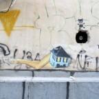אומנות רחוב: Anne-Laure Maison and Adi Sened